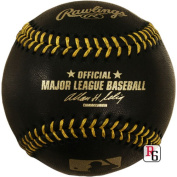Creative Sports Enterprises Inc RAWLINGS-MLB-BLACK Rawlings Official Black Major League Baseball