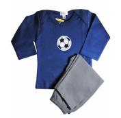 Loralin Design BNS6 Soccer Outfit - Blue 6-12 Months
