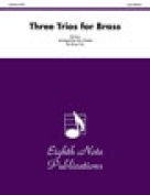 Alfred 81-BT983 Three Trios for Brass - Music Book