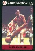 Autograph Warehouse 96889 Alex English Basketball Card South Carolina 1991 Collegiate Collection No. 35