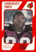 Autograph Warehouse 101812 Jon Cade Football Card Louisville 1989 Collegiate Collection No. 126