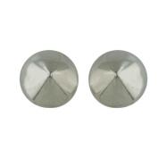 Vera & Co. Inc. 2S-6114 Sterling Silver Plain Earring Spiky stud