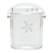 Carved Solutions Acrylic Insulated Ice Bucket With Tongs -Sfish