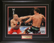 Midway Memorabilia Georges St-Pierre Ufc Signed 16X20 Frame