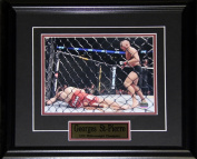 Midway Memorabilia Georges St-Pierre Ufc Signed 8X10 Frame