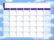 Go Write 42cm x 60cm . Self-Adhesive Dry Erase Calendar White Pack - 3