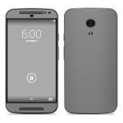 DecalGirl MMG2-SS-GRY Motorola Moto G Second Gen Skin - Solid State Grey