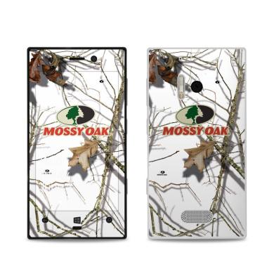 DecalGirl NL28-MOSSYOAK-SNW Nokia Lumia 928 Skin - Break-Up Lifestyles Snow Drift