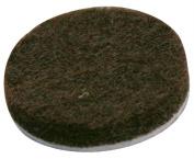 Magic Sliders Lp 61414 2.5cm . Brown Round Self Stick Felt Pads 16 Count