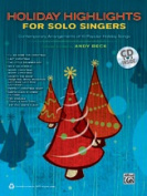 Alfred 00-37948 HOLIDAY HIGHLIGHTS SOLO SING-BK & CD