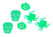 infactory Halloween Confetti in 3 designs, Glow-In-The-Dark