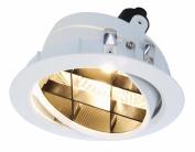 Deko-Light 850104 G53 / Qr111 75.00 W Tura Insert QR 111 Recessed Ceiling Luminaire, White