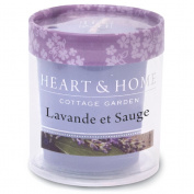 Votive Candle 15 hours - Lavender and sage