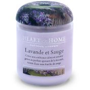 Jar Candle 30 hours - Lavender and sage