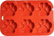 CrossCloud Silicone Mould for Chocolate, Jelly and Candy etc. - Paw