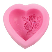 CrossCloud Silicone Mould for Chocolate, Jelly and Candy etc. - Love Rose