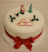 Santa / Father Christmas Cake Topper Decoration Pack