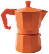 "Excèlsa ""Chicco Colour"" Orange 1 Cup Coffee Maker"