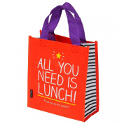 All You Need Is Lunch Handy Tote Bag by Happy Jackson / Wild & Wolf