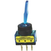 Calterm Inc Blue Glow Toggle Switch 40240