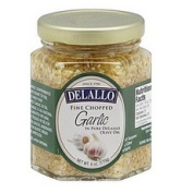 Twinings B02697 De Lallo Garlic Chopped In Oil - 12x180ml
