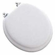 Bemis 13CP-000 Deluxe Chrome Soft Toilet Seat White