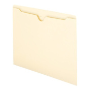 Smead 75500 File Jacket Flat-No Expansion & Letter Size - Manila 100 Per Box Pack Of 5