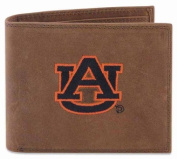 ZeppelinProducts UAU-IWE1-CRZH-LBR Auburn Passcase Embroidered Leather Wallet