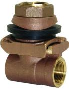 Water Source PA100NL 2.5cm . Brass Pitless Adapter
