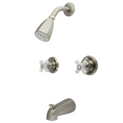 Kingston Brass KB248PX Two Handle Tub & Shower Faucet