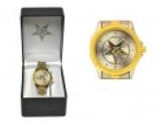 Sigma Impex A-3136 Ladies Eastern Star Metal Band Wrist Watch