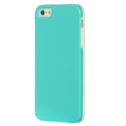 DreamWireless FTCIP5WTTL-AU Apple iPhone 5-5S Fusion Candy Case White Trim With Teal Aqua