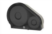 E-Z Taping System RD0024-01 23cm . Jumbo Toilet Tissue Dispenser with Stub in Smoke