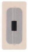 Uni-Patch 174B-LT 7.6cm . X 13cm . Rect. Tape Patches With Keyhole Low Tac Tan Tricot 100 Per Pkg