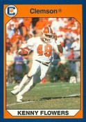 Autograph Warehouse 96917 Kenny Flowers Football Card Clemson 1990 Collegiate Collection No. 73