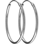 Jouailla-Hoop Earrings Silver 925/1000e