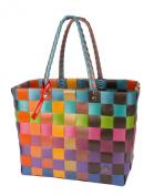 Joke Gall WG5010 Ice Bag Shopping Basket Plastic Straps 37CMX24CMX28 CM Shopper, bunt, orange, braun, grün, türkis (Multicolour) - 5010-99