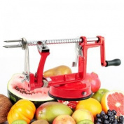 Denshine 3 in 1 Function Fruit Vegetable Tools Apple Slinky Machine Peeler Fruit Cutter Slicer Kitchenware 1pcs