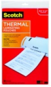 Scotch Legal Size Laminating Pouch 23cm x 37cm . - 3 Mil Thickness Clear Pack - 20