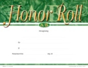 School Specialty A & B Honour Roll Recognition Focus Award - Fill In The Blank Pack - 25