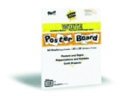 Pacon Super Value Poster Board White Pack - 50