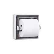 AJW UX70-SF-SM Single Satin Toilet Tissue Dispenser - Surface Mounted