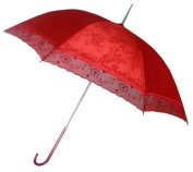 Conch Umbrellas 5012 110cm . Red Lace Umbrella For Chinese Wedding Wedding Events