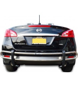 Broadfeet Motorsports Equipment RDNI-522-51 Stainless Steel Rear Double Pipe - 2009-2014 fits Nissan -Murano