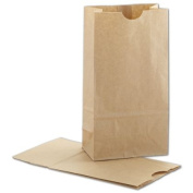 Deluxe Small Business Sales 12-040207-8 4.25 x 6cm x 21cm . SOS Bags Kraft