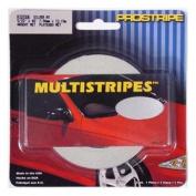 Medco PRS-R420132 0.8cm . x 46m Multipstripes Pewter Metallic
