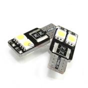 Cipa-Evo Formance Super White T10 Canbus Bulbs Pair