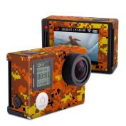 DecalGirl GPH4S-DIGIOCAMO GoPro Hero4 Silver Skin - Digital Orange Camo