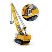 eMart Children Alloy Diecast Car Model Toy Excavator Truck Digging Cable Engineering Vehicle Tower Crane Collection Gift for Kids Scale