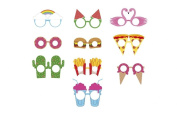 Crazy Party Eye Glasses Photo Booth Props